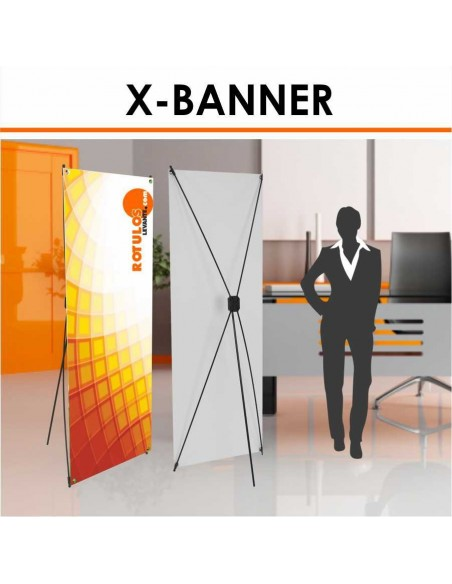 X banner para eventos económico