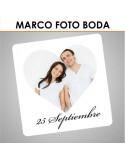 Marco photo call boda