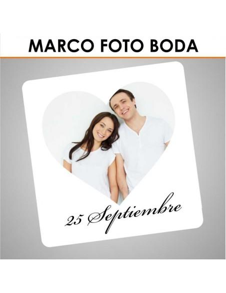 Marco photocall boda