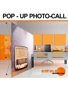 Pop-Up - photocall expositor
