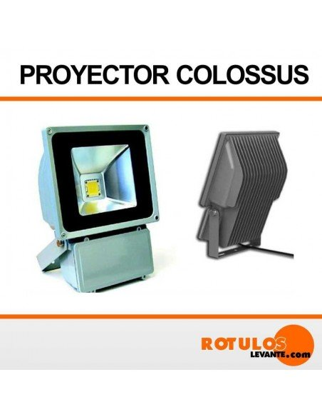 Foco proyector ecoled Colossus 80w