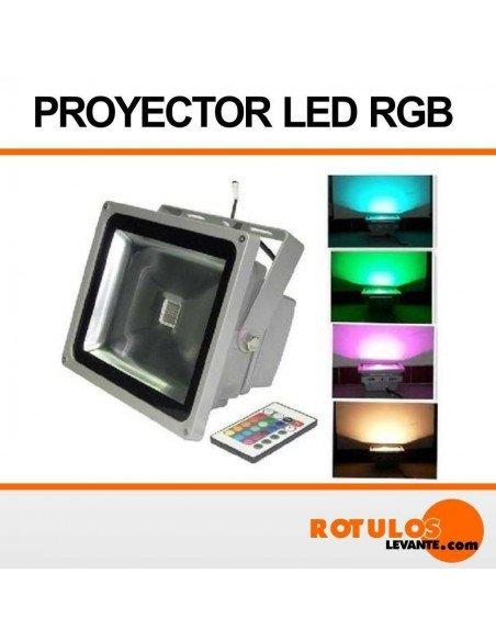 Foco reflector led RGB 20W