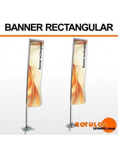 Fly banner rectangular