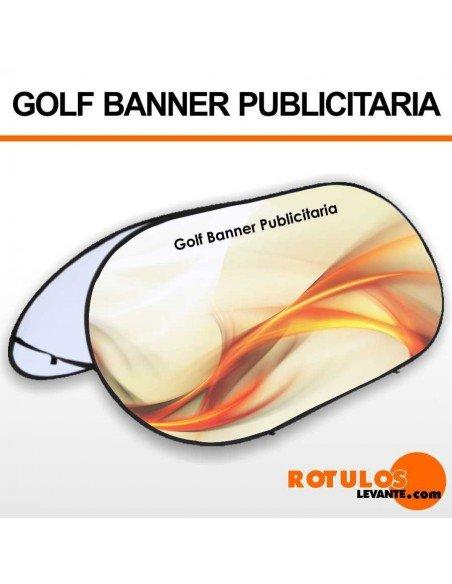 Fly banner golf publicitaria