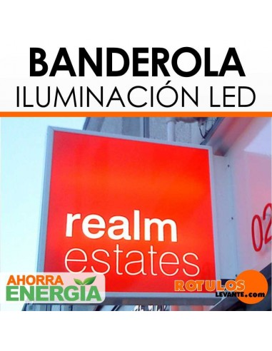 Banderola luminosa LED