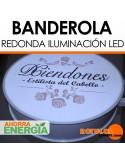 Banderola Redonda LED