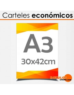 Carteles Económicos A3