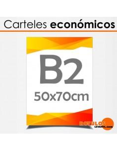 Carteles Económicos 50x70cm