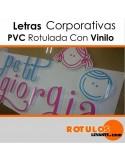 Corpóreas PVC rotuladas