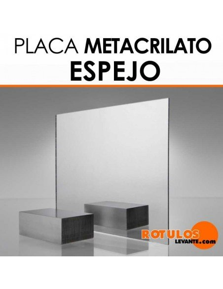 Placa de metacrilato Espejo