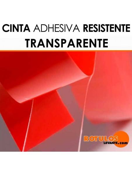 Cinta adhesiva doble cara resistente