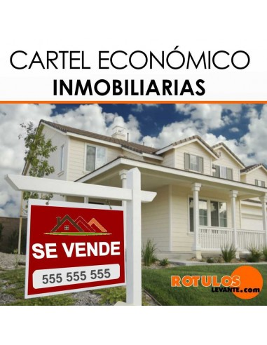 CARTELES INMOBILIARIOS IMPRESO