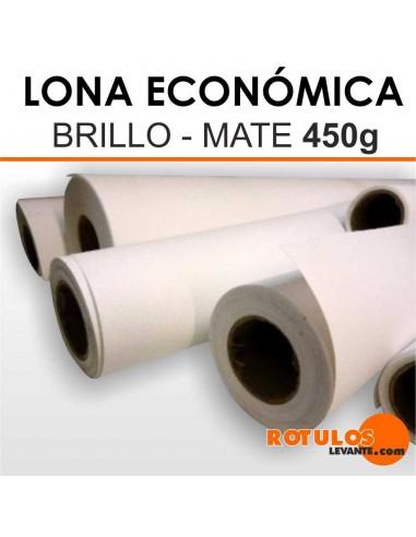 Lona Frontlit Económica 450g