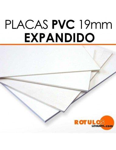 Placa de PVC expandido 19mm