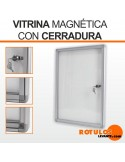 Vitrina magnética anuncios