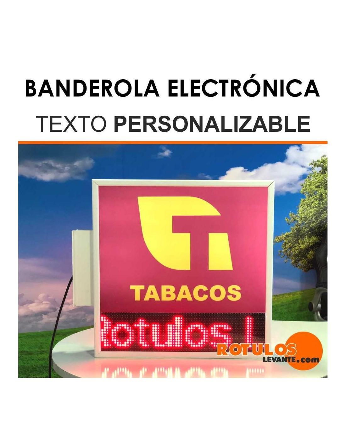 Banderola electronica