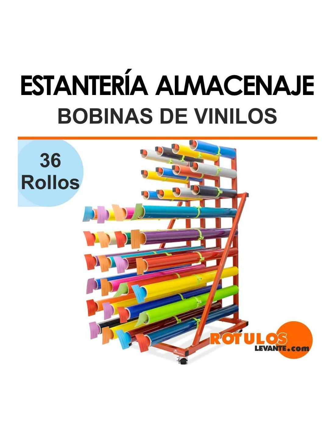 Almacenaje bobinas de vinilo m vil for Rollos de vinilo