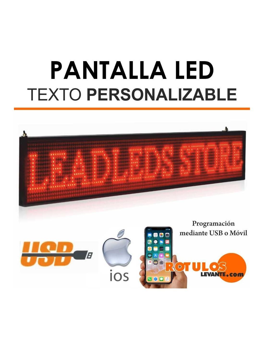 Pantalla LED para Texto
