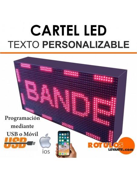 Cartel led programable ¡OFERTA!