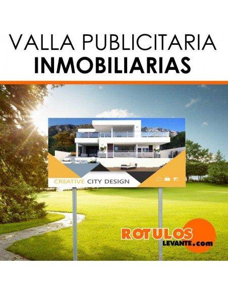 VALLA PUBLICITARIA INMOBILIARIA