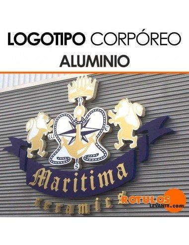 Logo corporeo aluminio