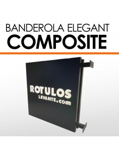 Banderola luminosa composite