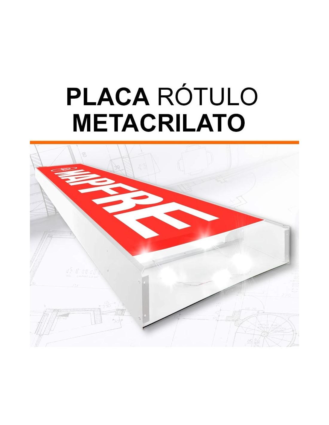 Placa de Metacrilato