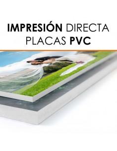 Impresión directa en PVC