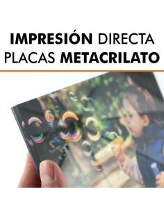 Impresión directa metacrilato