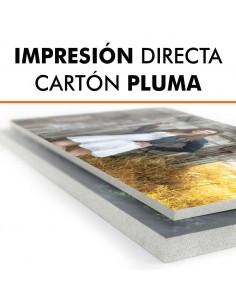 Impresión directa cartón pluma