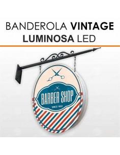 Banderola luminosa Vintage