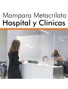 MAMPARA PARA HOSPITALES Y CLÍNICAS