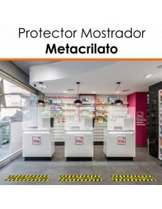 PROTECTOR MOSTRADOR METACRILATO