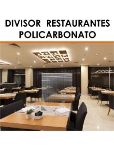 Mamparas para restaurantes