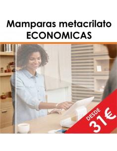 MAMPARA METACRILATO ECONÓMICA