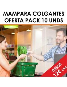 MAMPARAS COLGANTES OFERTA