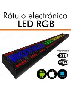 Letreros programables led RGB