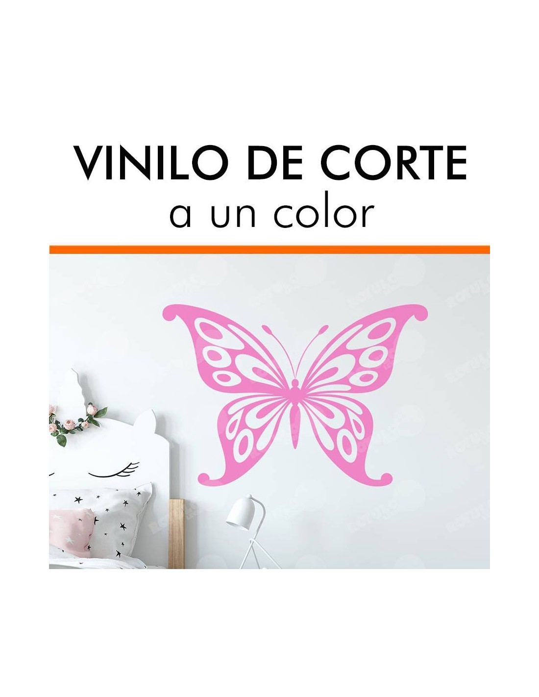 Vinilo de corte a color