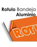 RÓTULO BANDEJA ALUMINIO