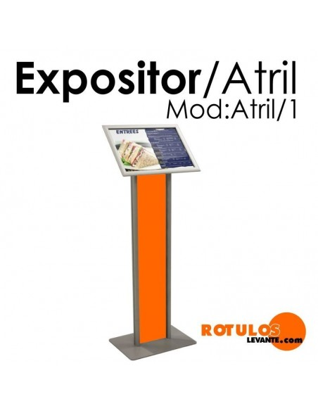 ATRIL EXPOSITOR PUBLICITARIO