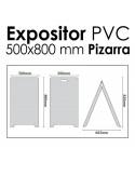 Caballete Económico Pizarra 500x800