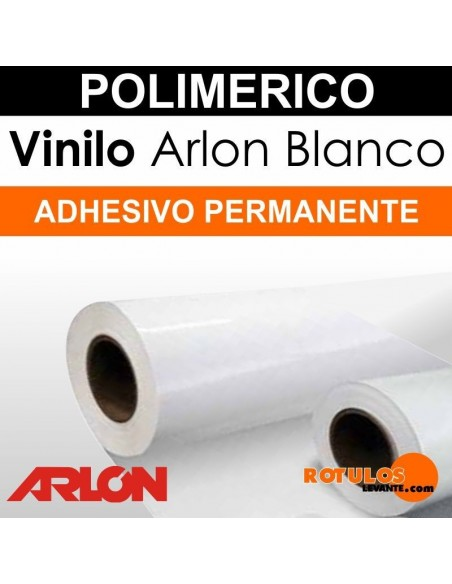 Bobina Vinilo Impresión Arlon Polimérico