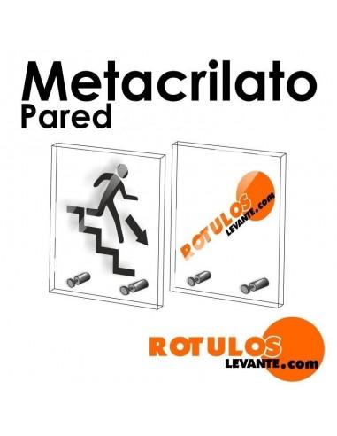 Señalética en metacrilato