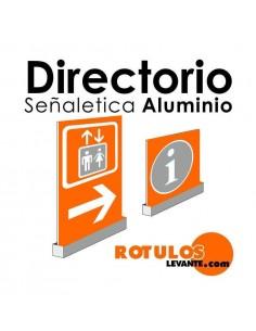 Directorio de aluminio online