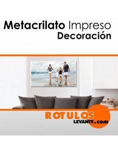 METACRILATO IMPRESO PARA DECORACIÓN