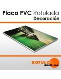 PLACAS PVC ROTULADAS