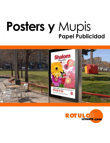 Pósters - mupis personalizados