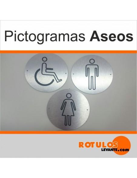 Pictogramas para aseos