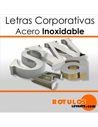 Corpóreas acero inoxidable
