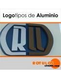 Logo corpóreas de alumino